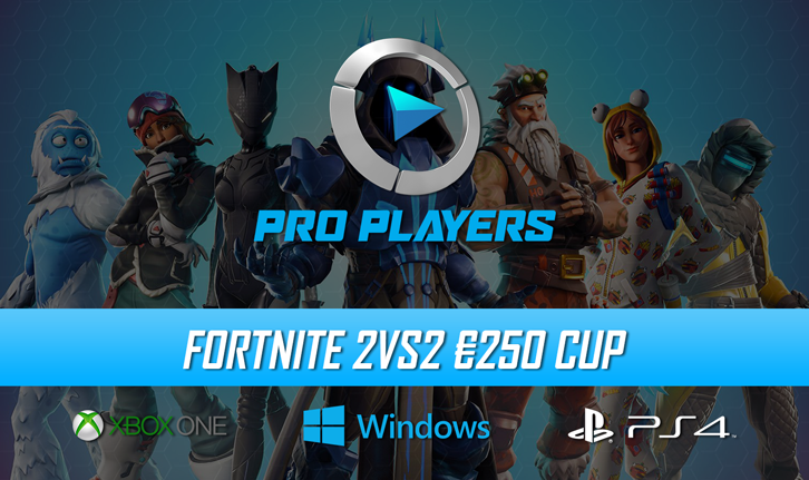 Toernooi Lobby Fortnite 2vs2 250 Cup Pcps4xb1 Pro Players